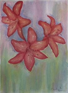 """acquerello """"Danza"""" 31x41cm 2011"""