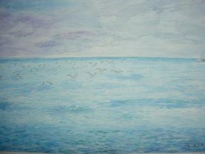 """""""Madeira"""" acquerello 30,5x45,5cm 2010"""