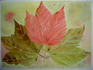 """""""Sinfonia d'autunno"""" acquerello 31x41cm 2010"""