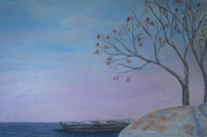 """""""Silenzio"""" olio su tela 40x60cm 2012"""