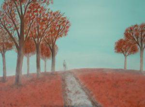 """olio su tela """"Terra rossa"""" 40x50cm 2011"""