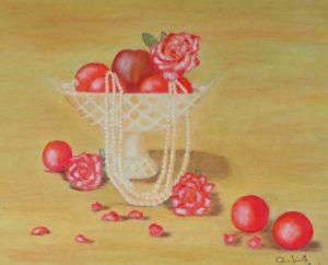 """""""Petali di rose"""" 40x50cm 2013"""