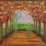 """""""Sinfonia della natura"""" olio su tela 70x90cm 2016"""