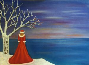 """Evanescenza"" olio su tela 50x70cm 2016"