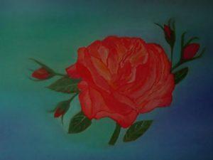 """""""la rosa di Madeira"""" 30x40cm 2011"""