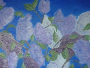 """Lilas"" olio su tela 35x45cm 2011"