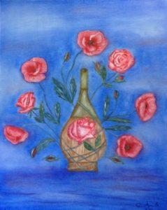 """""""Abbracci"""" olio su tela 40x50cm 2012"""